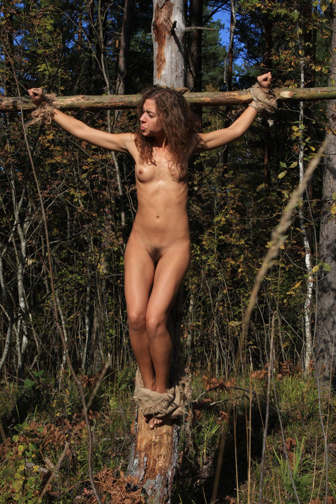 Crucifixion women bdsm