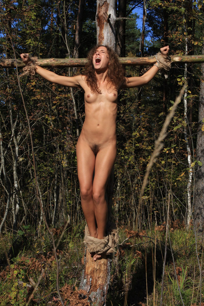 Tied Roped And Crucified Look No Further Than Women
